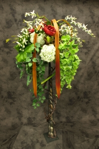 Du deuil en fleurs permanentes