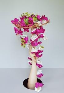 Bouquet de mariée: technique Gregor L