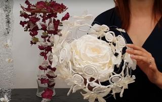 Bouquet de mariée: la rose duchesse 2