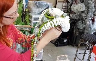 Le bouquet de la mariée, une rose et des marguerites, Johanne Martel, Isabel Harrisson